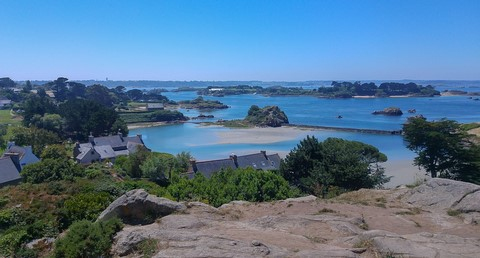 granite islands self-guided walking brittany